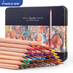 Marco Renoir water soluble coloured pencil sets for designers artist student present gift set