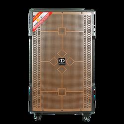15 INCH SUPER BASS PORTABLE TROLLEY SPEAKER DALTON TS-15G550N