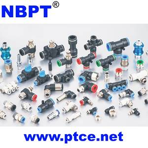 PL Series L-Type Short Elbow Low profile Plastic Quick Connector One-touch Pneumatic Fittings