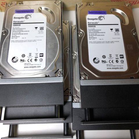 Seagate Barracuda Hard Drive Desktop 2TB, Hard Drive Internal SATA 7200RPM 3.5