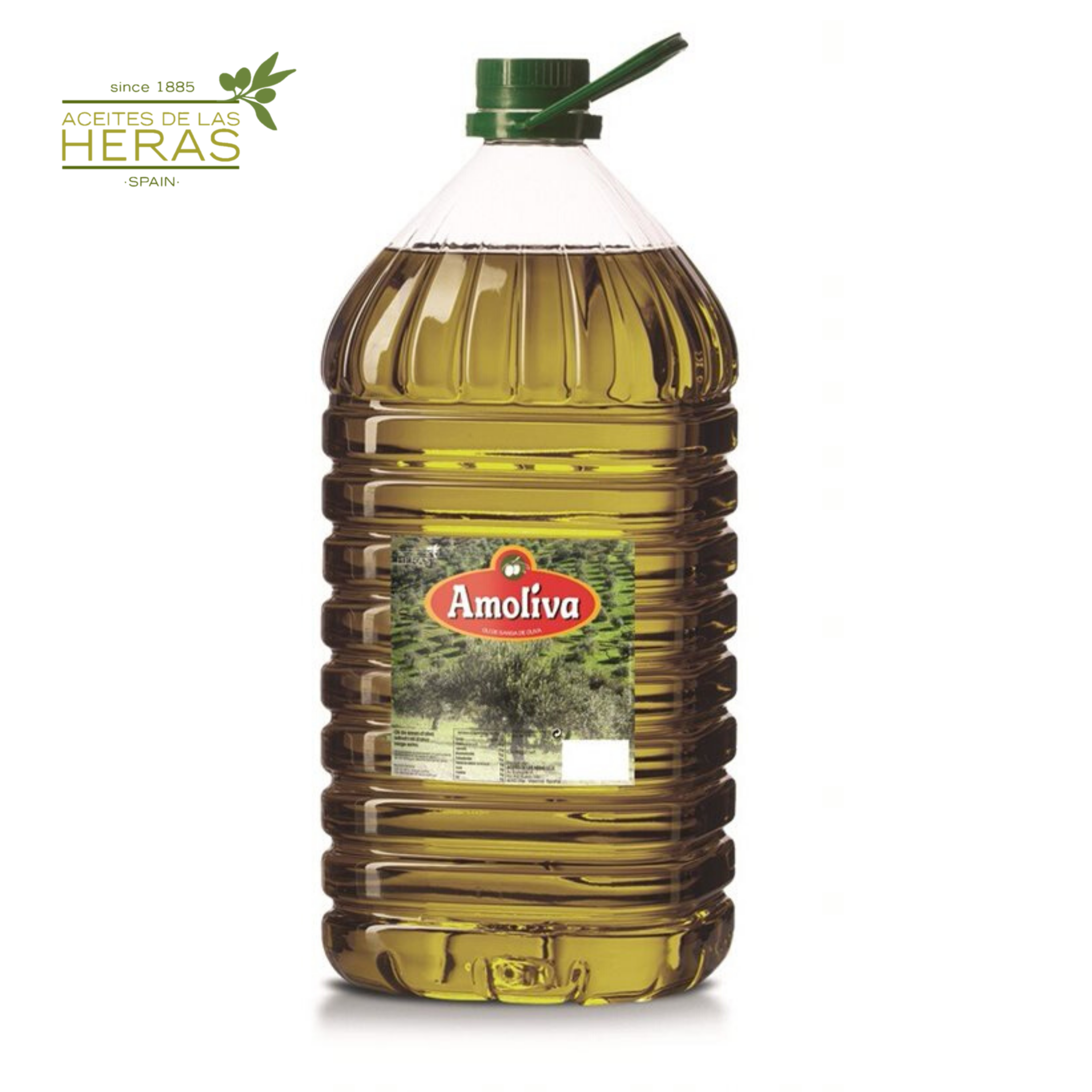 Amoliva - High Quality Pomace Olive Oil - 5 l PET Bottle - Product from Spain