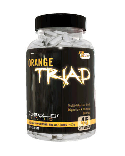 Joint supplement - Orange Triad - 270 Tablets