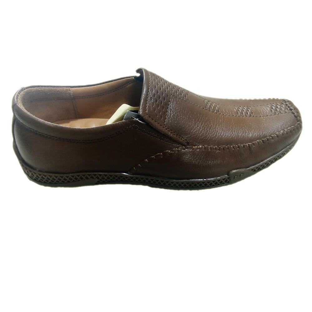 Genuine men leather casual classic rubber sole shoes