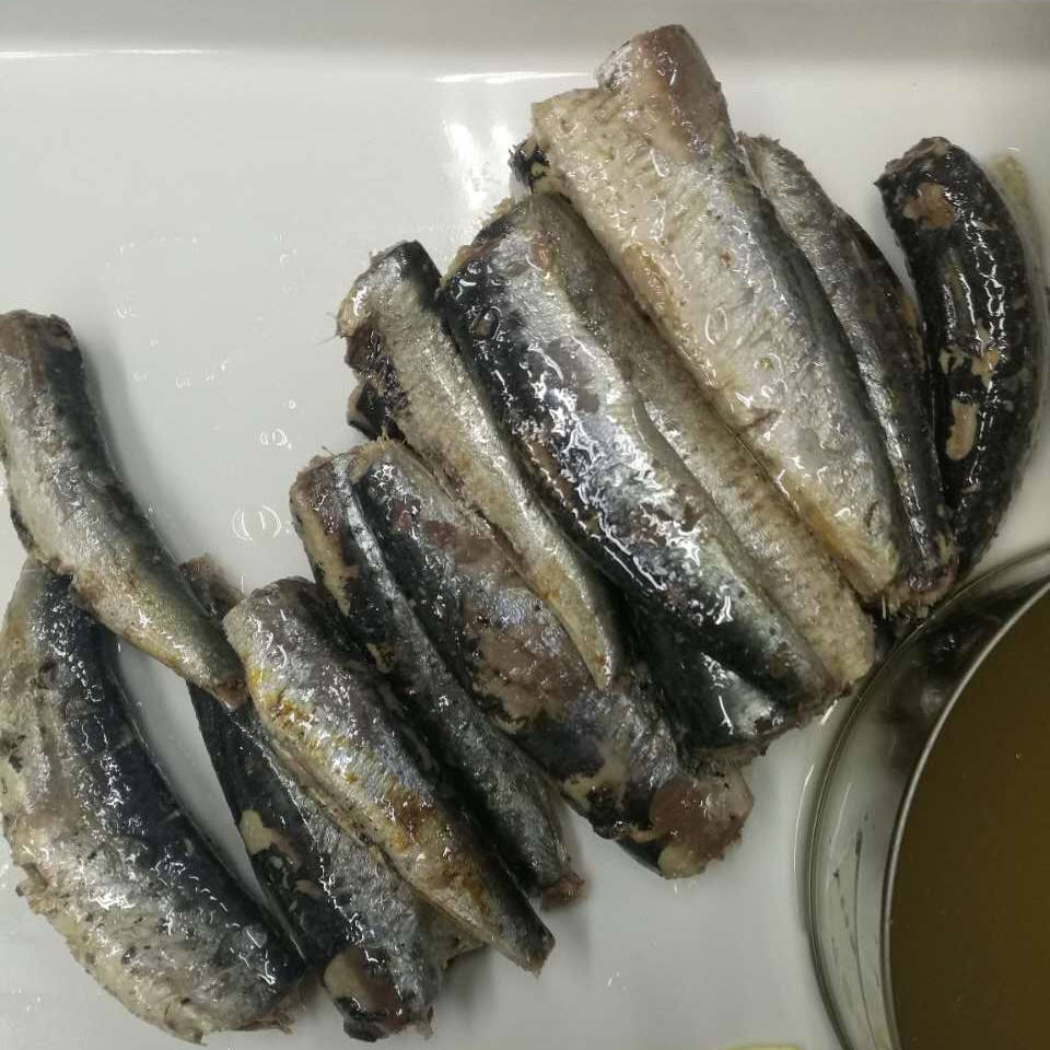 High QUALITY OVAL Canned sardines in vegetable oil, club can sardine 125g Wholesale