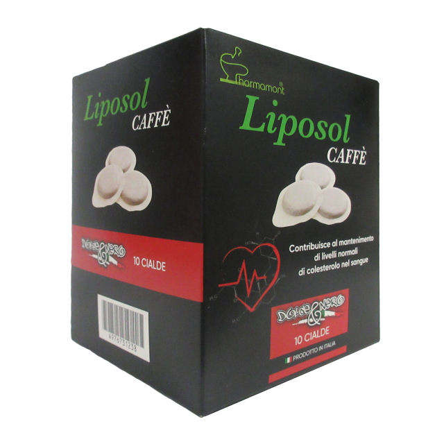 LIPOSOL MONACOLIN k COFFEE SUPPLEMENTS CHOLESTEROL REDUCTION COFFEE 10 PODS RED YEST RICE