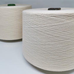 Top Grade Raw Ring Spun Cotton Yarn For Knitting Contamination Free