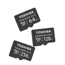 High Speed Low Cost Wholesale TOSHIBA microSD card M203 16GB UHS1 U1 Read 100MB/s memory card