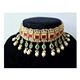Fully Customized Designer Fashion Choker Necklace Jewelry set in any color