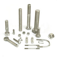 All size custom stainless steel grade 8.8 bolt and nut hex head  A2 70 stainless steel hexagon bolts