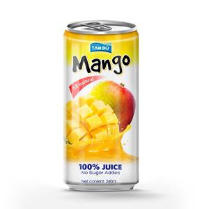 Bottled Mango Juice 330ml Tin Can Natural Juice Drink Suppliers