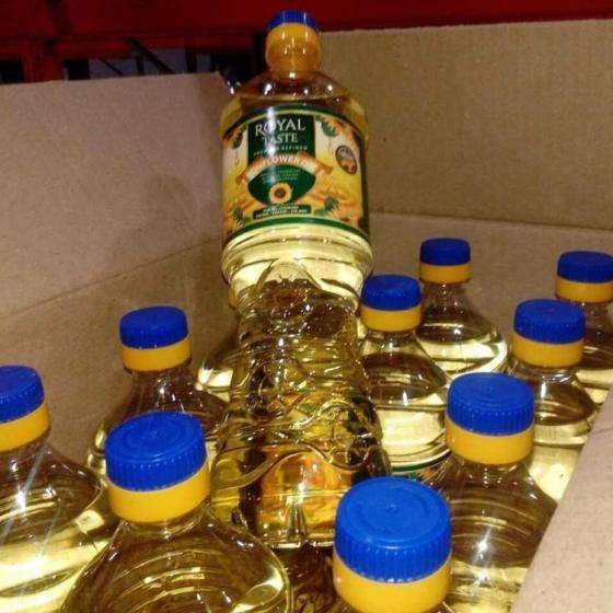 Pure Vegetable Cooking Sunflower Oil