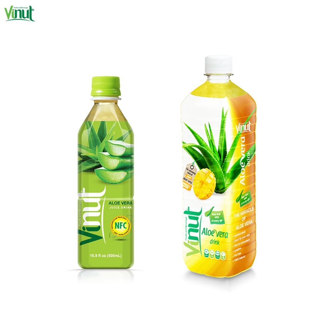 1.5L VINUT Brand Bottle aloe vera juice buyers with Mango