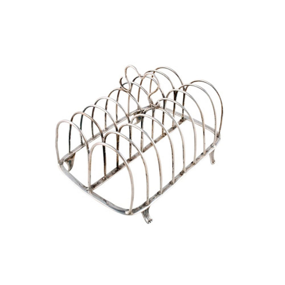 Multifunction Silver Stainless Steel Toast Rack Or Cheap Price Bread Toast Holder USA and Europe Design
