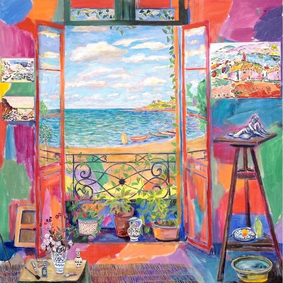 Best Print Matisse's Studio in Collioure lll I With Size16 x 16 in (41 x 41 cm) From UK