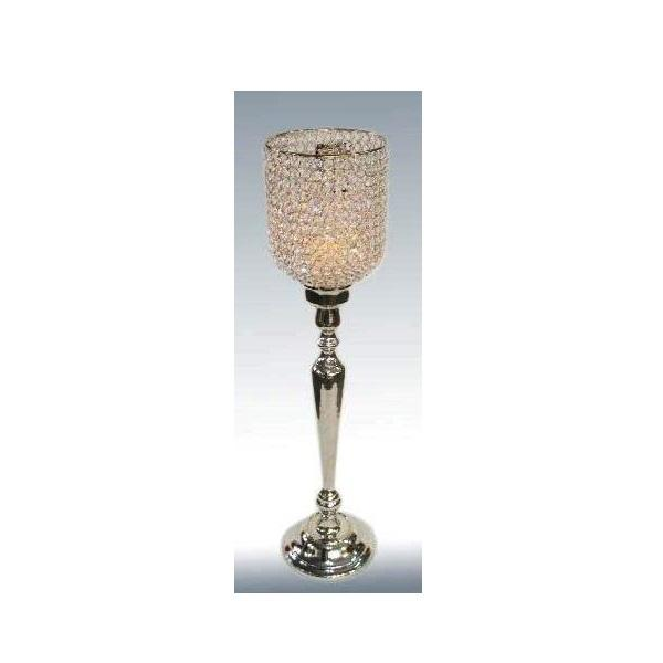 crystal long t light holder votive dining charm