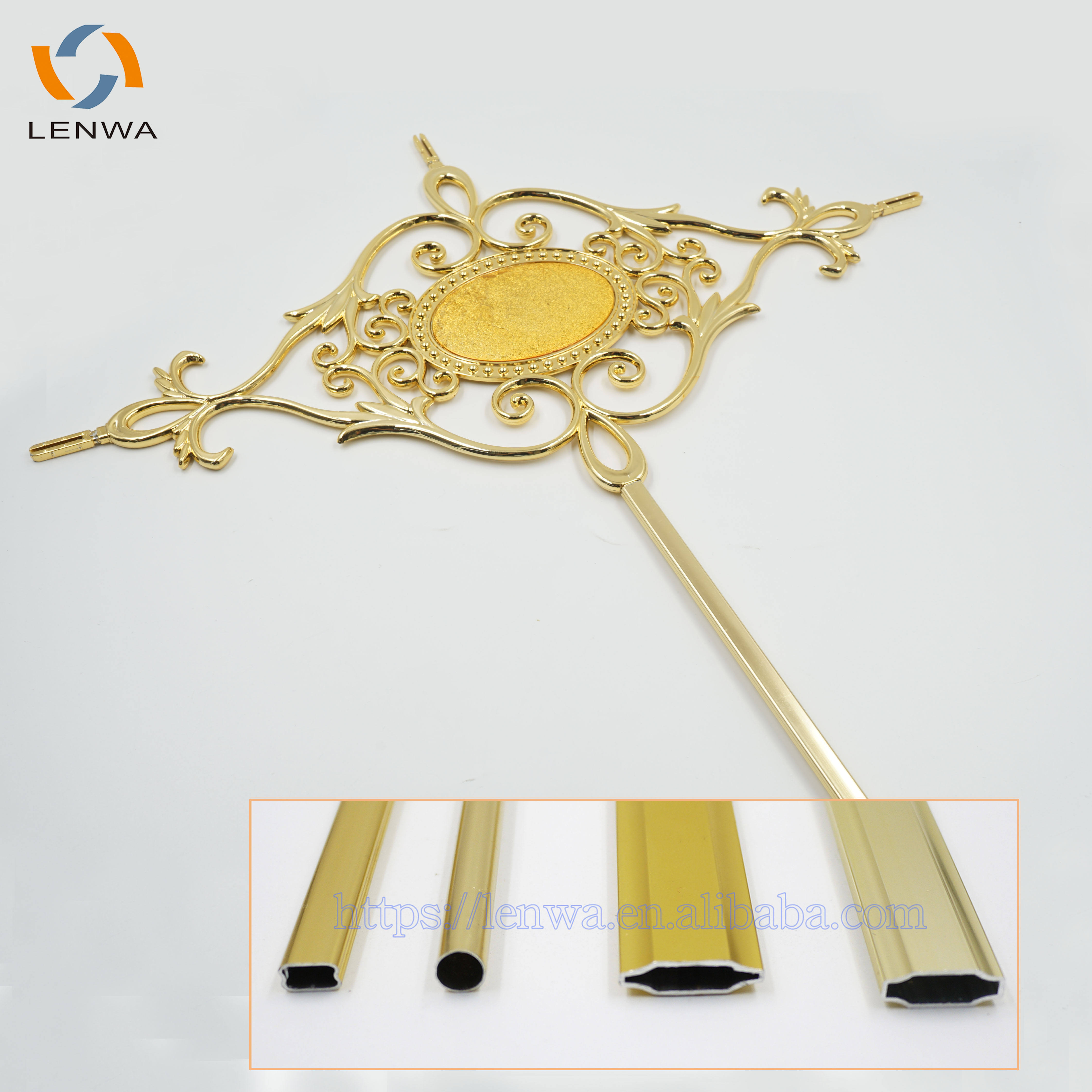 LENWA Aluminium Factory georgian bar flower for double glazing window accessories spacer bars