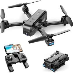 NEW SNAPTAIN SP510 Foldable GPS FPV Drone with 2.7K Camera for Adults UHD Live Video RC Quadcopter