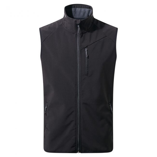 OEM High Quality Men's Outdoor Softshell Vest