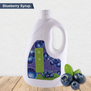 Taiwan Beverage Supplier High Fruit Content Blueberry syrup