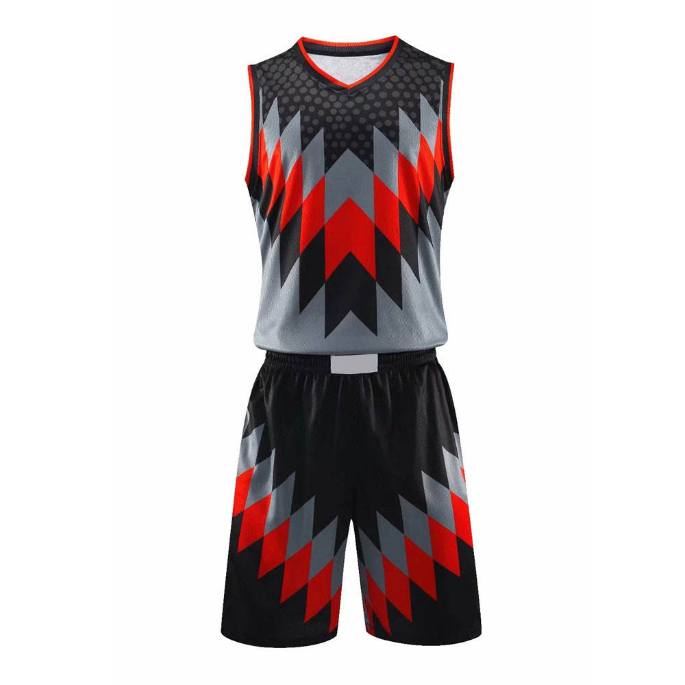 Full Sublimation Printing Basketball Uniform, Customized Design Basketball Jerseys Quick Dry Basketball Uniform