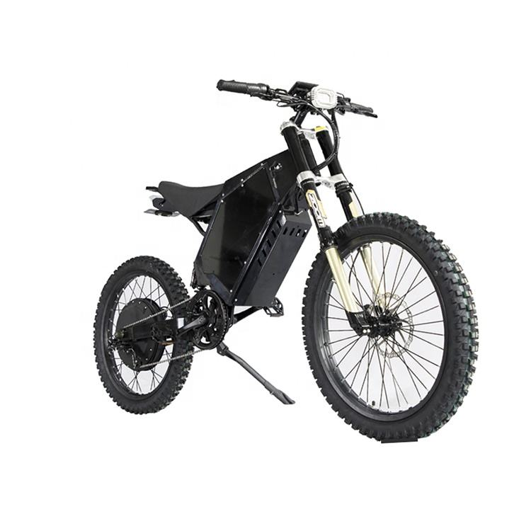 90KM/H 72V 8000W enduro electric bicycle/Stealth bomber electric bicycle/Electric Motorcycle