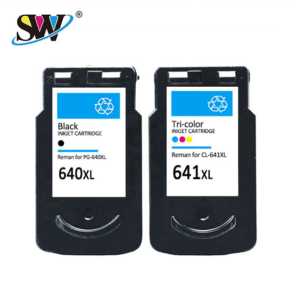Senwill factory recycled wholesale inkjet cartridge 640 premium quality for <span class=keywords><strong>CANON</strong></span> printers cartridge ink