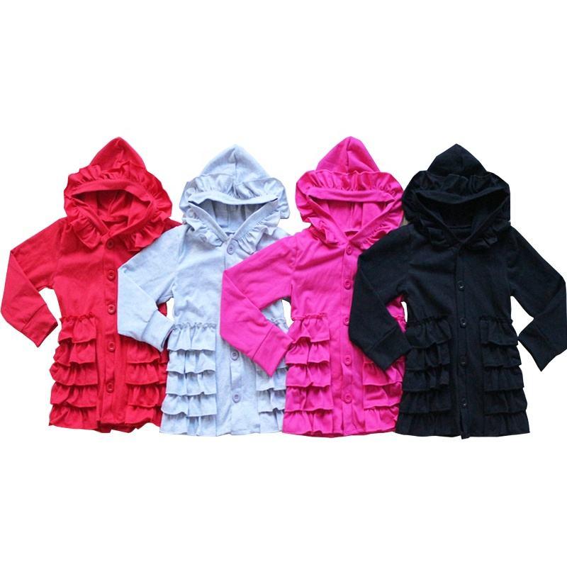 Лидер продаж оптом весна осень детские куртки с длинными рукавами оптовая продажа бутик блузка для маленьких девочек