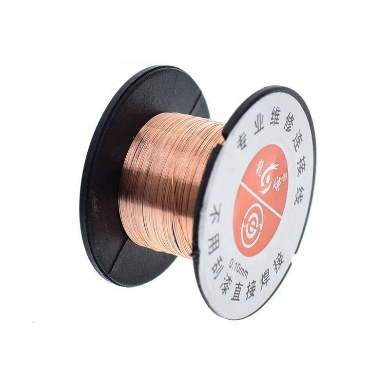 1PCS 0.1mm PCB Link Wire Copper Soldering Wire Maintenance Jump Line PCB Welding Mobile Phone Computer Repair Tools