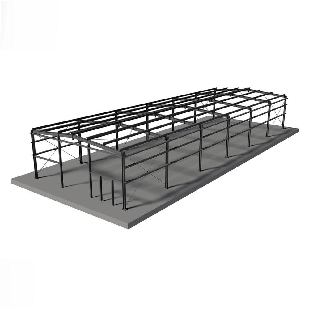 Préfabriqués en acier entrepôt préfabriqué à faible coût En Acier structure hangar