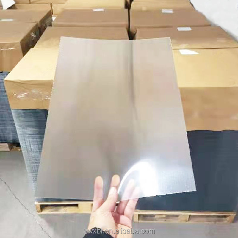 Zebulun 3D lenticular sheet 70 LPI / 0.9MM Thickness/ size 800*600 mm PET Plastic UV printing for 3D lenticular printing