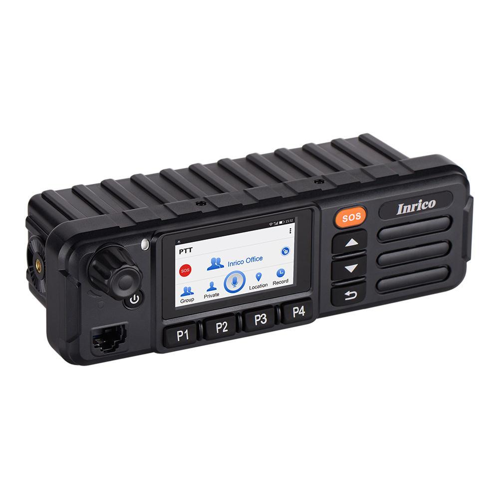 Recentes 3 Inrico G LTE móvel rádio de carro com tela de toque do cartão SIM e Wi-fi TM-7