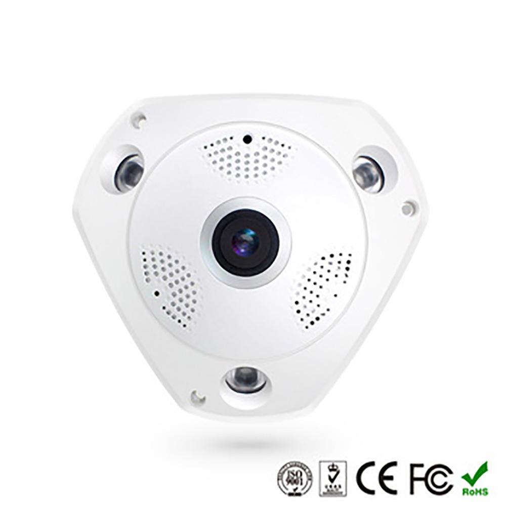 2019 360VR <span class=keywords><strong>caméra</strong></span> Panoramique 1080 P infrarouge vision nocturne système de maison intelligente sans fil <span class=keywords><strong>caméra</strong></span>