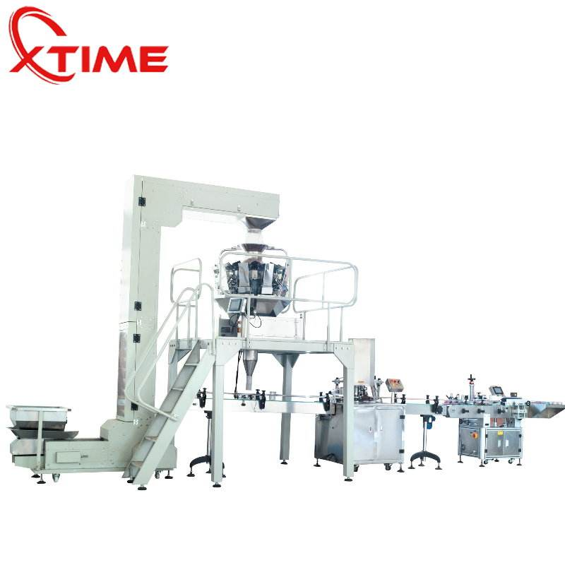 High quality core-filled snacks processing line ice cream core filling snack food packing machine