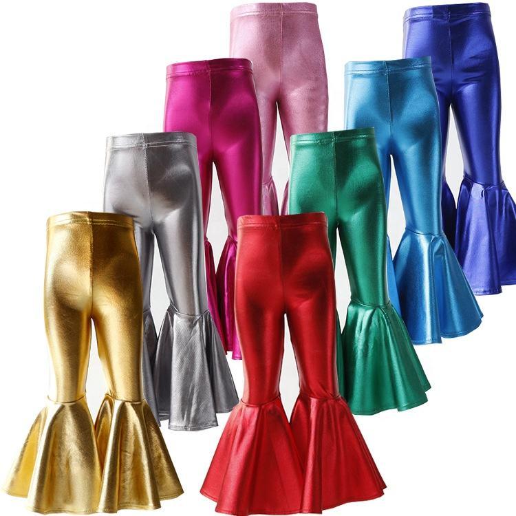 Штаны высокого качества для девочек Однотонные штаны для маленьких девочек 2020 оптовая продажа фабричных детских брюк