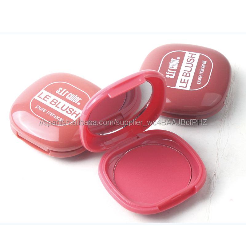Directo de fábrica colorete maquillaje sombra de ojos y colorete paleta en el precio bajo