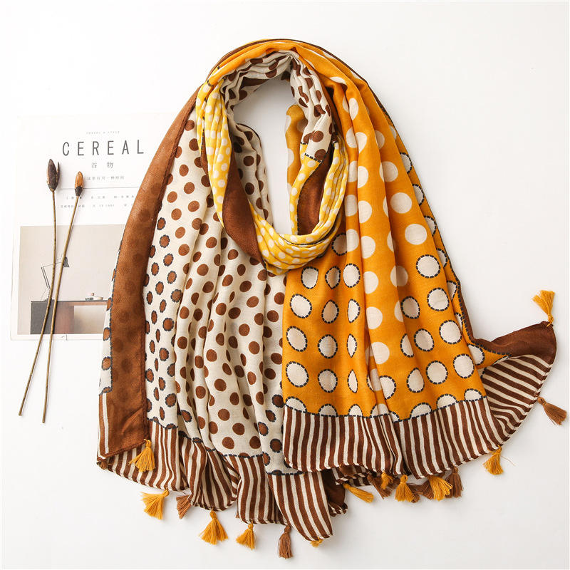 High quality women Fashion scarf hot selling autumn hijab scarf new fashion soft floral scarves