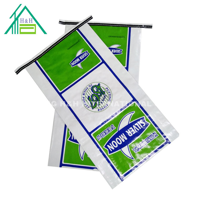 Красочные пленка ДОПП для ламинирования PP сплетенный мешок 25 кг мешок риса