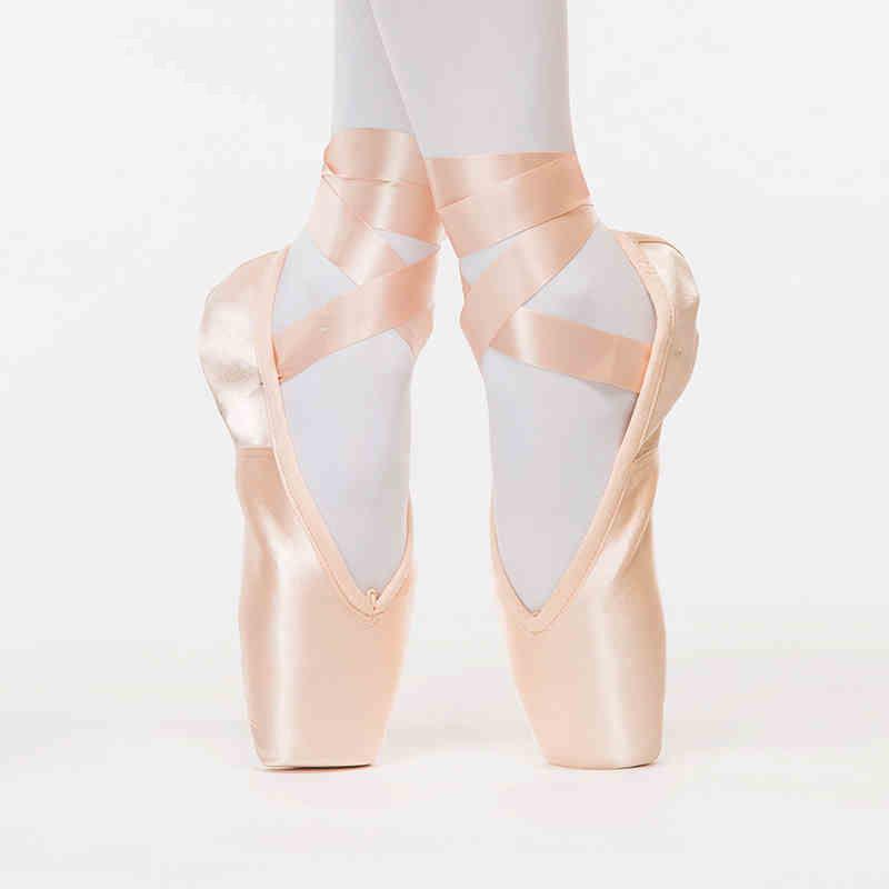 Профессиональный пятно лицо кожа подошва пуанты обувь балетные пуанты для взрослых танцы