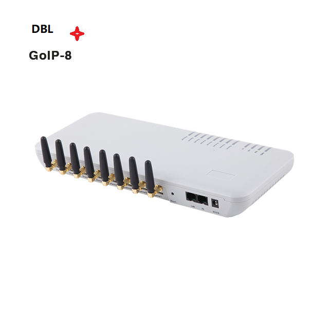 GoIP 8 Quad <span class=keywords><strong>Band</strong></span> 8 Channel Gsm <span class=keywords><strong>Voip</strong></span> Gateway/GSM Gateway PBX Kualitas Tinggi