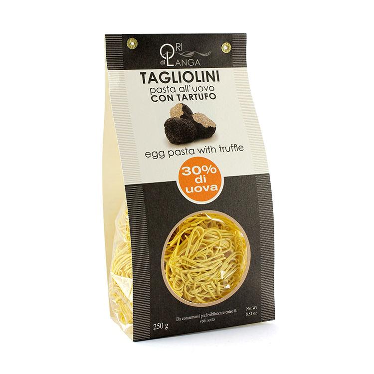Long flat Durum wheat semolina eggs Dried 250gr truffle pasta spaghetti italian pasta
