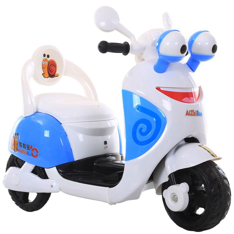 Motocicleta eléctrica de realidad virtual para bebé, motocicleta de juguete para niña encantadora