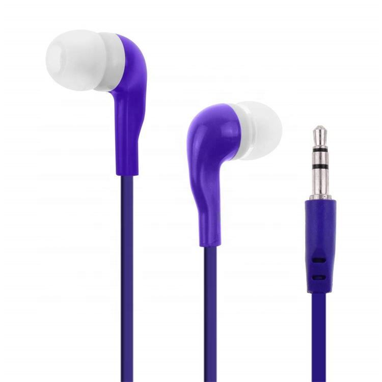 Promotion gift items giveaway big bus earphone at lowest price