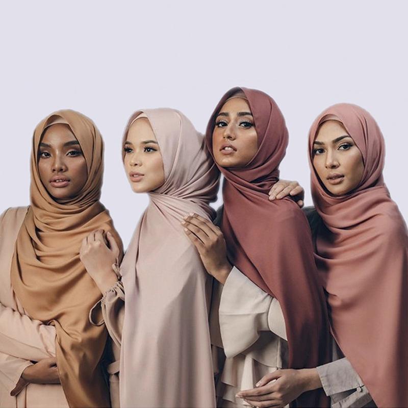 Foulard épais en mousseline <span class=keywords><strong>de</strong></span> <span class=keywords><strong>soie</strong></span>, Hijab épais, <span class=keywords><strong>bulle</strong></span>, tendance, <span class=keywords><strong>de</strong></span> luxe, couleur unie, nouveau Design, 2020