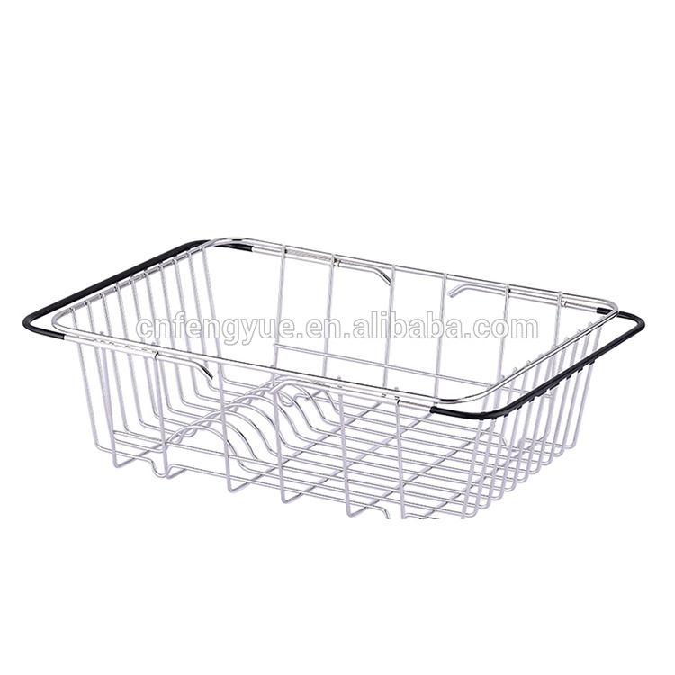 الجملة عالية الجودة طبقة واحدة الفولاذ المقاوم للصدأ غسل الأطباق آلة استنزاف المطبخ الرف الخاص تخزين الرف