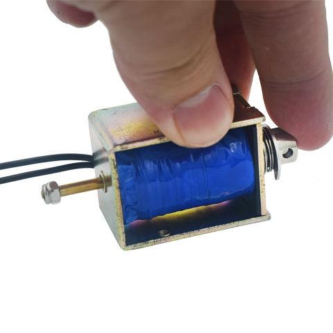12 voltios Vending sanitarias compresor de descarga de la gravedad de la válvula de solenoide