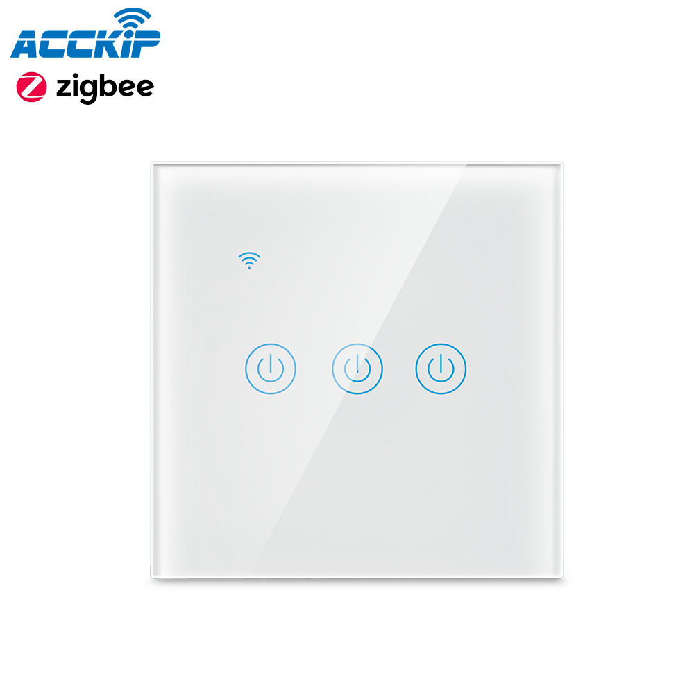 ANPU Wifi Smart Home Products Wall Light Switch Touch Switch Zigbee For Home Automation Remote Control SwitchTuya Zigbee Module