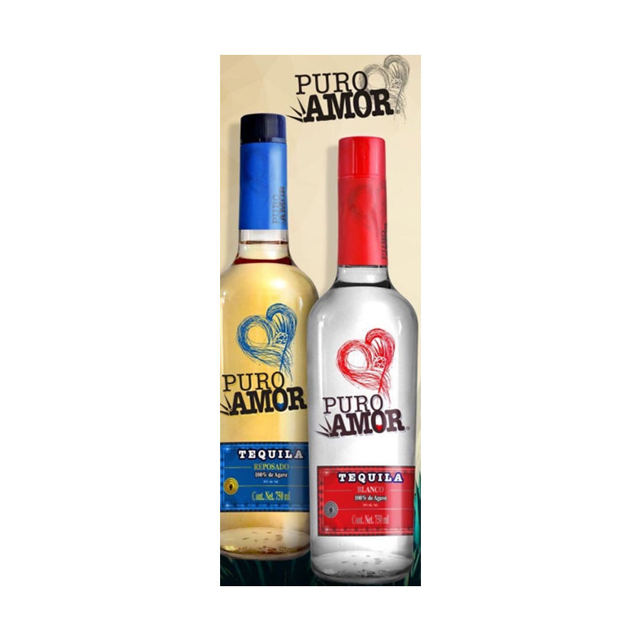 Wholesale Mexico Puro Amor high quality alcohol 39% tequila prices