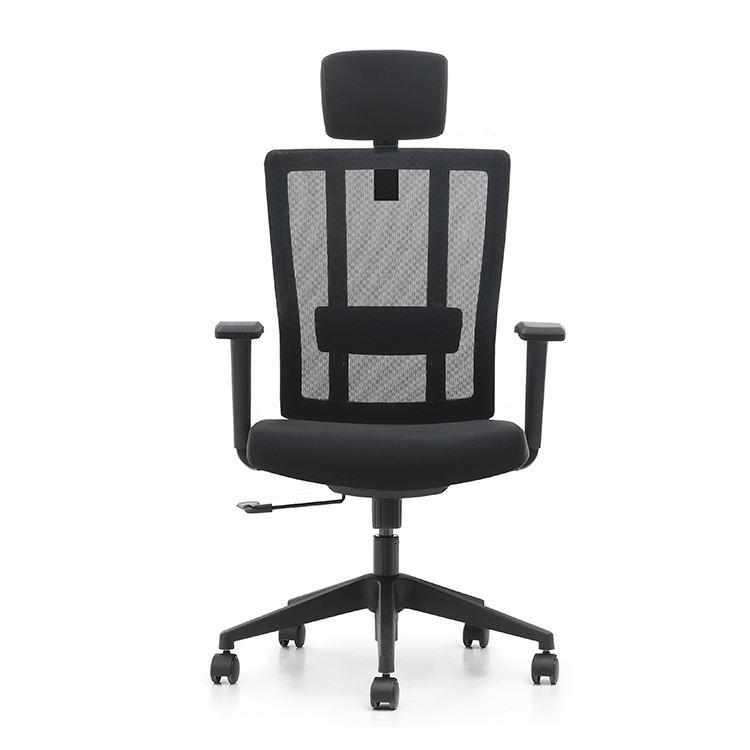 3 años de garantía, BIFMA certificación negro Silla de malla de profundidad de asiento ajustar la silla de oficina ergonómica