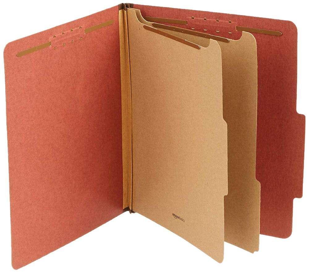 2019 высокое качество A4 Маниле офисная папка для бумаг набор гайковерта с двойным открытым папка крепеж классификации папки