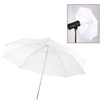 Dropshipping 33 pouces <span class=keywords><strong>Flash</strong></span> Lumière Douce <span class=keywords><strong>Diffuseur</strong></span> D&#39;éclairage Reflètent Parapluie Blanc